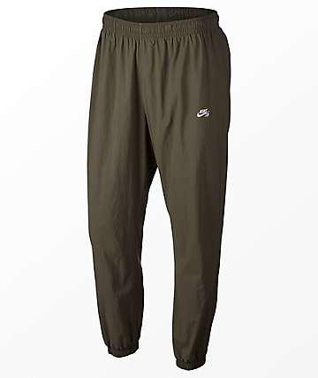 Nike SB Flex Olive Track Pants
