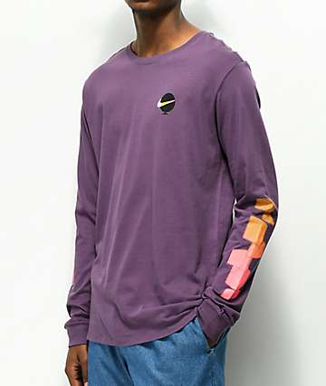 Nike SB Globe Purple Long Sleeve T-Shirt