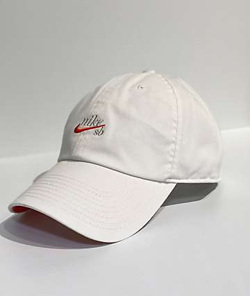Nike SB H86 Icon White Strapback Hat