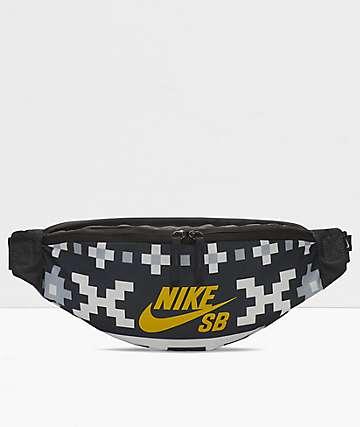Nike SB Heritage Black & Grey Fanny Pack