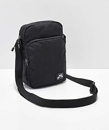 6aec9936fbf5 Nike SB Heritage Black   White Shoulder Bag