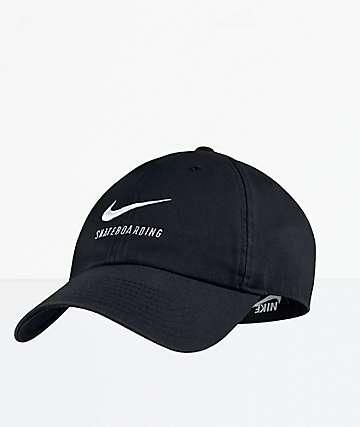 Nike SB Heritage86 Black Strapback Hat