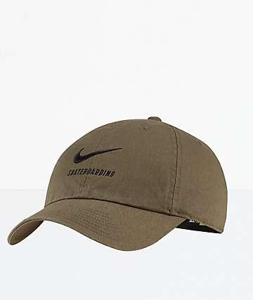 Nike SB Heritge86 Olive Strapback Hat