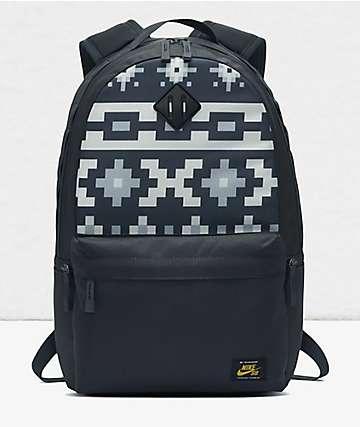 Nike SB Icon Black & Grey Backpack