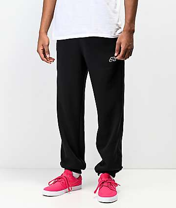 Nike SB Icon Black Jogger Pants