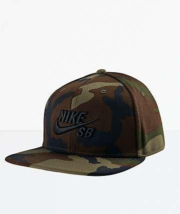 Nike SB Icon Camo Snapback Hat