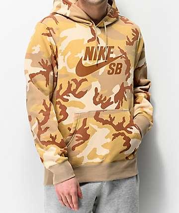 Nike SB Icon Desert Camo Hoodie