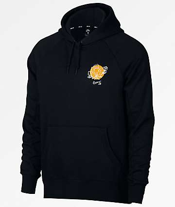 Nike SB Icon Flower Black Hoodie