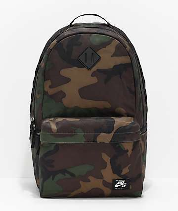 b57aa8094a5d Nike SB Icon Iguana Green Camo Backpack