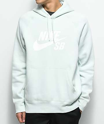 Nike SB Icon Light Blue Hoodie