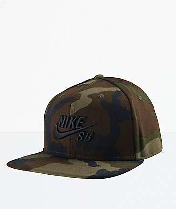 Nike SB Icon Pro Camo Snapback Hat b6902ba33c1