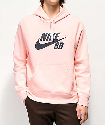 Nike SB Icon Storm Pink Hoodie