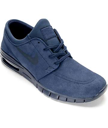 Nike SB Janoski Air Max Obsidian Skate Shoes