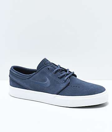 Nike SB Janoski Boys Thunder Blue Skate Shoes