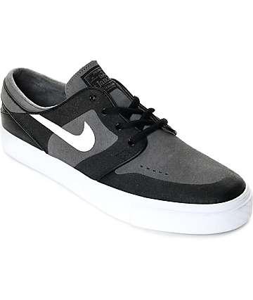 Nike SB Janoski Elite Dark Grey, White & Black Skate Shoes