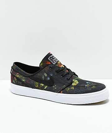 Nike SB Janoski Floral Canvas Shoes 051e529b4