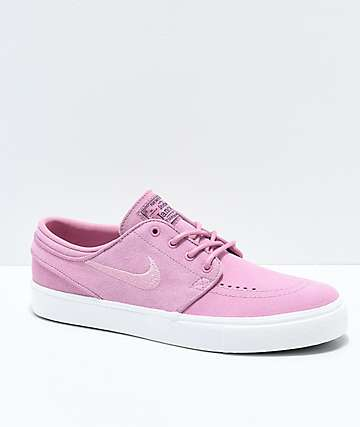 Nike SB Janoski Kids Elemental Pink Skate Shoes