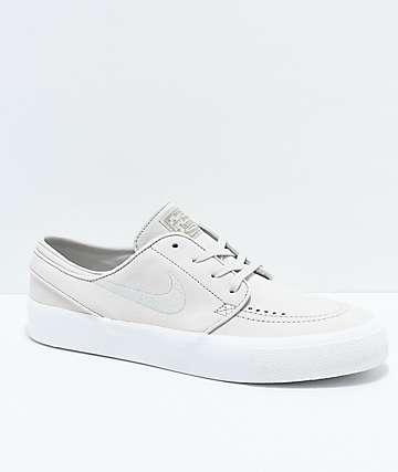 Nike SB Janoski Premium High Tape Deconstructed Light Bone & White zapatos de skate en blanquecino