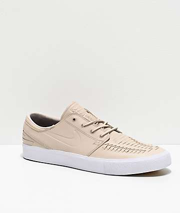Nike SB Janoski RM Crafted Desert & White Skate Shoes