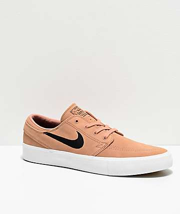 Nike SB Janoski RM Rose Gold & Summit White Skate Shoes