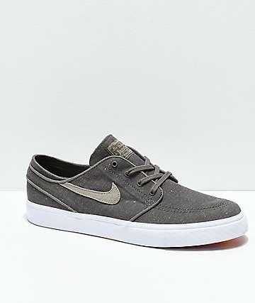 Nike SB Janoski Ridgerock & Khaki Skate Shoes