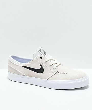 Nike SB Janoski Summit zapatos skate en blanco y negro