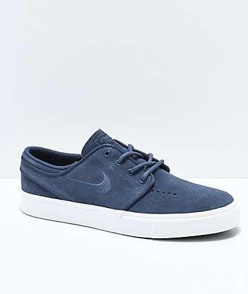 Nike SB Janoski Thunder Blue zapatos de skate para niños