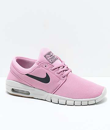 Nike SB Kids Janoski Air Max Elemental Pink Skate Shoes