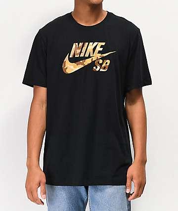 d31c4e92 Nike SB Logo SNSL2 Black T-Shirt