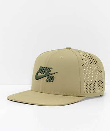 Nike SB Performance gorra de camionero oliva