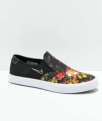 Nike SB Portmore II Solar Floral Slip-On zapatos