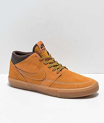 Nike SB Portmore Mid II zapatos de skate caqui