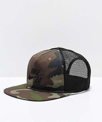 Nike SB Pro gorra de camionero de camuflaje bcd9b122470