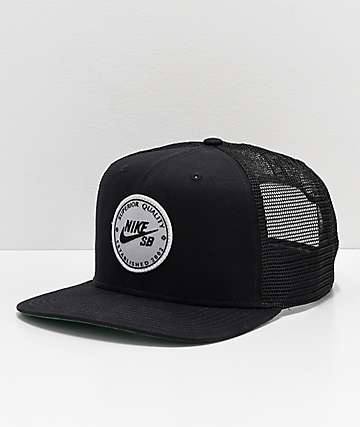 Nike SB Procap Black Trucker Hat