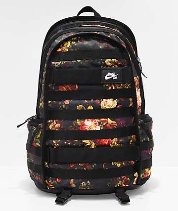 Nike SB RPM Floral & Black Backpack