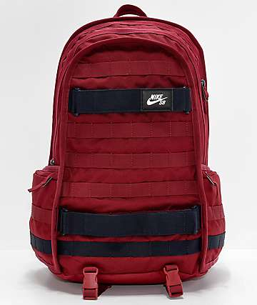 Nike SB RPM Team Red & Dark Obsidian Backpack