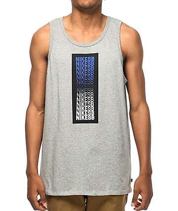 Nike SB Repeat Line Grey Tank Top