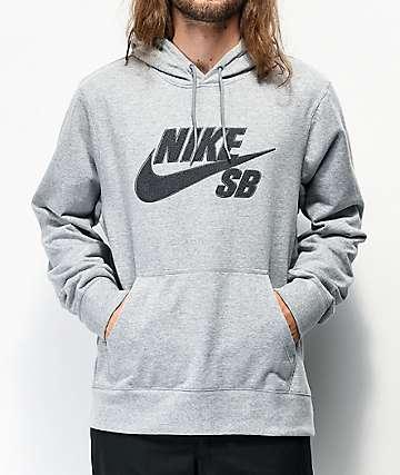 Nike SB Seasonal Grey Hoodie