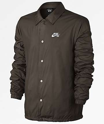 Nike SB Shield Charcoal Coaches Jacket