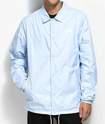 Nike SB Shield Hydrogen Blue Coaches Jacket