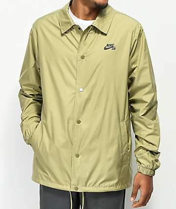Nike SB Shield Olive Coaches Jacket