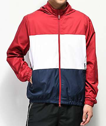 Nike SB Shield Red, White & Blue Windbreaker Jacket