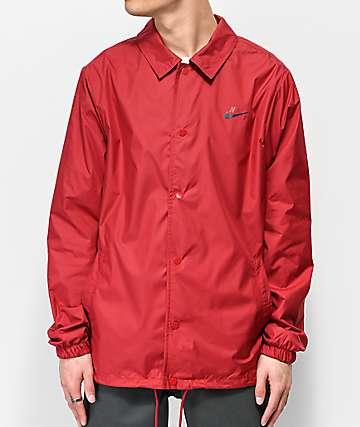 Nike SB Shield Red Coaches Jacket