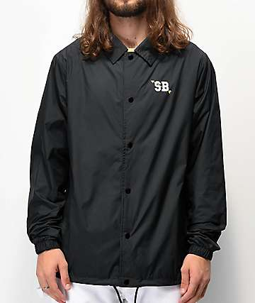 Nike SB Shield Seasonal Black Coaches Jacket