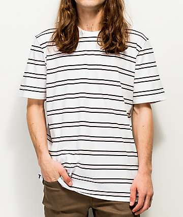 Nike SB Summer Stripe Pink, Black & White T-Shirt