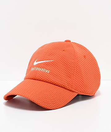 Nike SB Swoosh Coral Mesh Strapback Hat