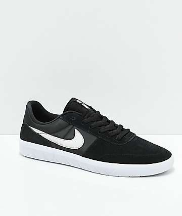 Nike SB Team Classic Black & Bone Skate Shoes