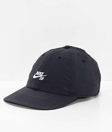Nike SB True Cap Black & White Strapback Hat