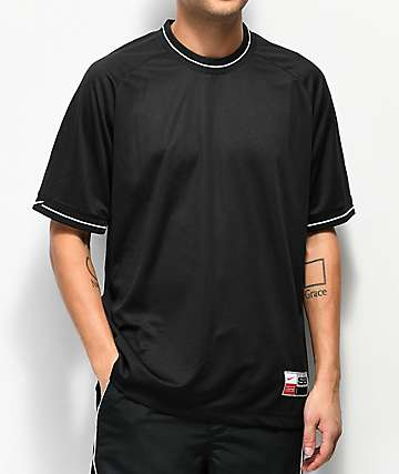 Nike SB camiseta de malla negra