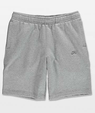 Nike SB shorts de polar en gris
